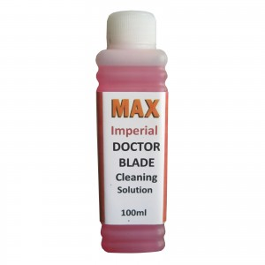Max Imperial Doctor Blade 100ML Cleaning Solution Kit