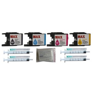 Max Print Head Cleaning Kit With 50ML Solution For Brother Printer