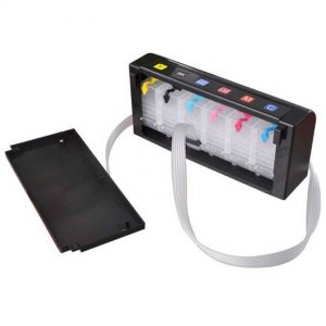 Max CISS Tank 6 Color For All Inkjet Printer (Black)