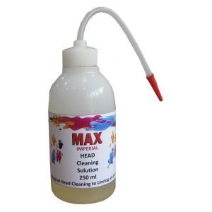 Max Imperial 250ML CISS Print Head Cleaning Solution For Epson Brother Canon HP Inkjet Printer