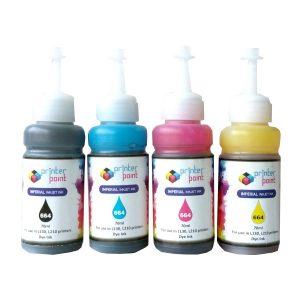 Max (Black Cyan Magenta Yellow) Photo Dye 4*70ML Compatible High Quality Ink Set For Epson L110 L210 L380 L485 Printer