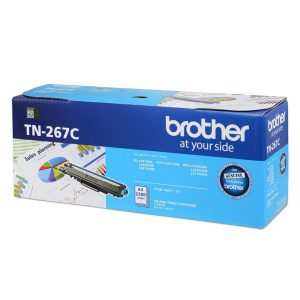 Brother TN-267C Cyan Original Toner Cartridge (Box Pack)