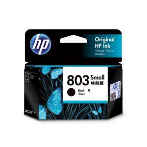 HP 803 Black Original Ink Cartridge (F6V23AA)