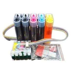 Max 73HN CISS With Refillable Ink Cartridge For Epson T1100 Printer